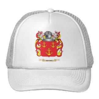 Escudo de la familia de Werl (escudo de armas) Gorras