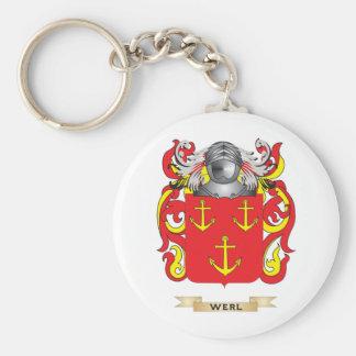 Escudo de la familia de Werl (escudo de armas) Llavero Personalizado
