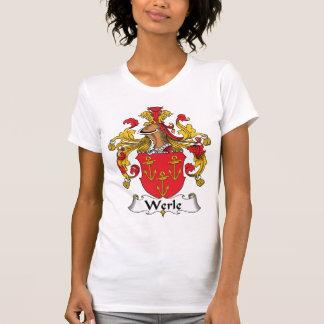 Escudo de la familia de Werle Camisas