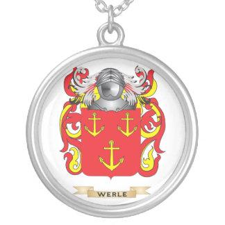 Escudo de la familia de Werle (escudo de armas) Grímpola