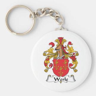 Escudo de la familia de Werle Llaveros Personalizados