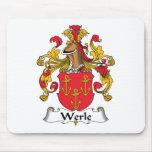 Escudo de la familia de Werle Tapete De Raton