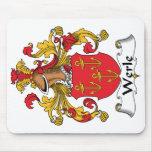 Escudo de la familia de Werle Tapetes De Ratones