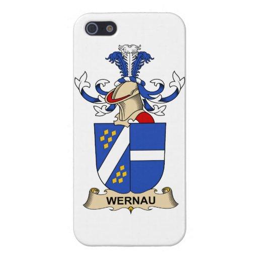 Escudo de la familia de Wernau iPhone 5 Cobertura