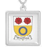 Escudo de la familia de Weschhaus Colgante Personalizado