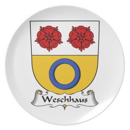 Escudo de la familia de Weschhaus Platos