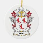 Escudo de la familia de Wesel Ornamentos Para Reyes Magos