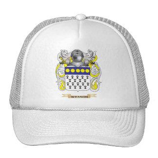 Escudo de la familia de Wesson (escudo de armas) Gorra
