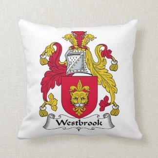 Escudo de la familia de Westbrook Cojin