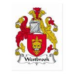 Escudo de la familia de Westbrook Postal