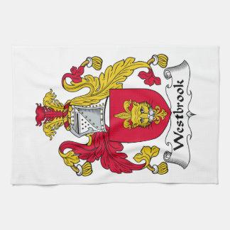 Escudo de la familia de Westbrook Toalla