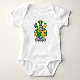 Escudo de la familia de Westenra Body Para Bebé