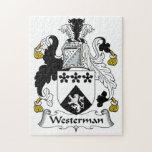 Escudo de la familia de Westerman Puzzles