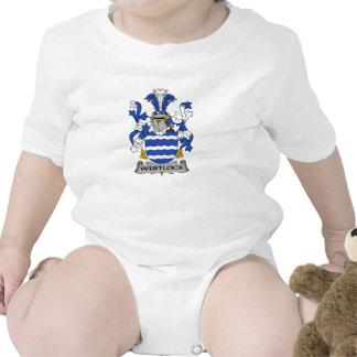 Escudo de la familia de Westlock Trajes De Bebé