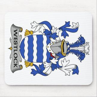 Escudo de la familia de Westlock Tapete De Ratón