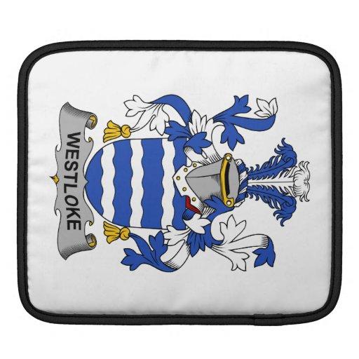 Escudo de la familia de Westloke Funda Para iPads