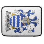 Escudo de la familia de Westloke Funda Para Macbook Pro