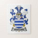 Escudo de la familia de Westloke Puzzle Con Fotos