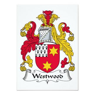 Escudo de la familia de Westwood Anuncio Personalizado