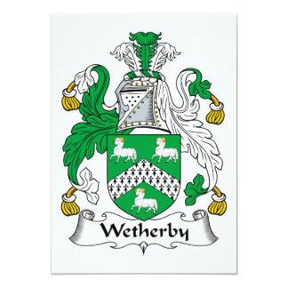 Escudo de la familia de Wetherby Comunicado