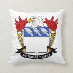 Escudo de la familia de Wetmore Cojines