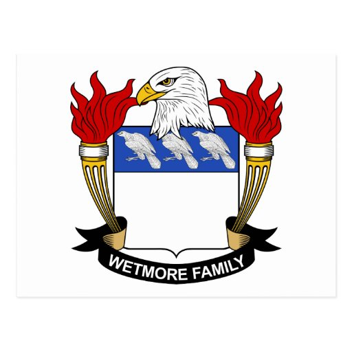 Escudo de la familia de Wetmore Postal
