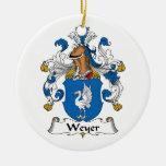Escudo de la familia de Weyer Ornamentos Para Reyes Magos