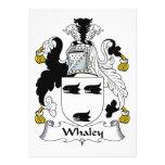 Escudo de la familia de Whaley Anuncios