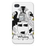 Escudo de la familia de Whaley iPhone 4 Carcasa