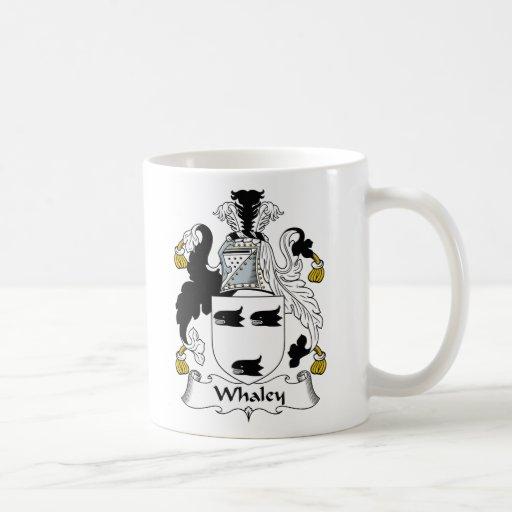 Escudo de la familia de Whaley Taza De Café