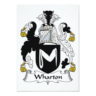 Escudo de la familia de Wharton Anuncio