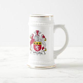 Escudo de la familia de Wheatley Jarra De Cerveza