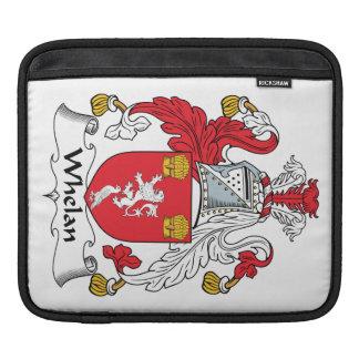 Escudo de la familia de Whelan Fundas Para iPads