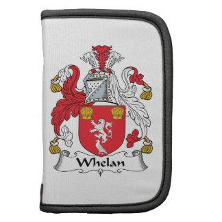 Escudo de la familia de Whelan Organizadores