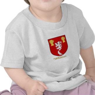 Escudo de la familia de Whelan Camiseta