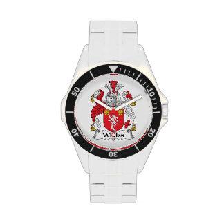 Escudo de la familia de Whelan Relojes De Pulsera