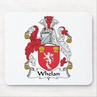 Escudo de la familia de Whelan Alfombrillas De Ratones