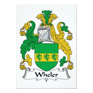 Escudo de la familia de Wheler Comunicados Personales