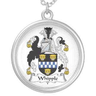 Escudo de la familia de Whipple Colgante Redondo