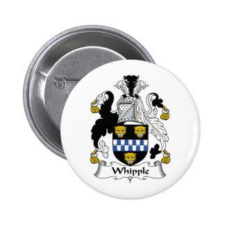 Escudo de la familia de Whipple Pin Redondo 5 Cm