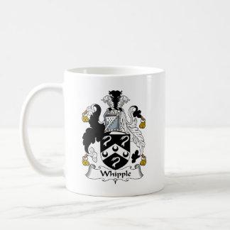 Escudo de la familia de Whipple Taza De Café