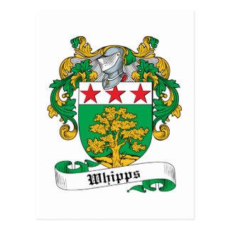 Escudo de la familia de Whipps Tarjeta Postal