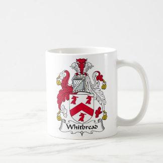 Escudo de la familia de Whitbread Taza De Café