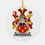 Escudo de la familia de Whitchurch Adornos De Navidad