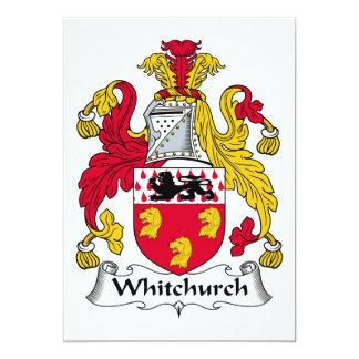 Escudo de la familia de Whitchurch Anuncios Personalizados