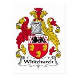 Escudo de la familia de Whitchurch Postal