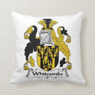 Escudo de la familia de Whitcombe Almohada