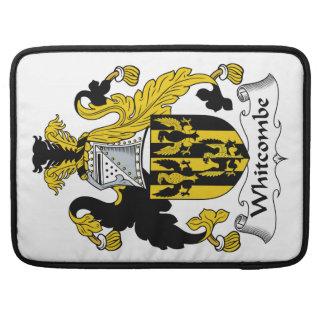 Escudo de la familia de Whitcombe Funda Para Macbook Pro