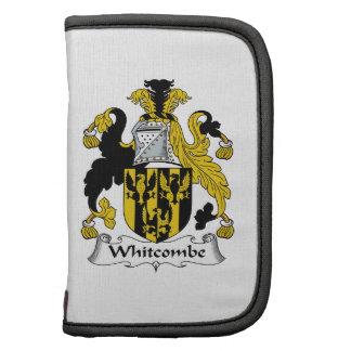 Escudo de la familia de Whitcombe Planificador