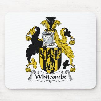 Escudo de la familia de Whitcombe Tapete De Ratones